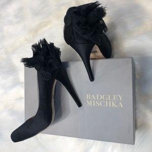 BADGLEY MISCHKA BLACK HIGH HEELS